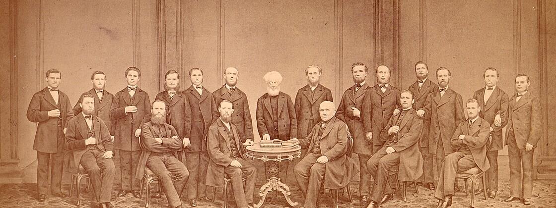 Gruppe von Studierenden von 1865 (Hamburg)
