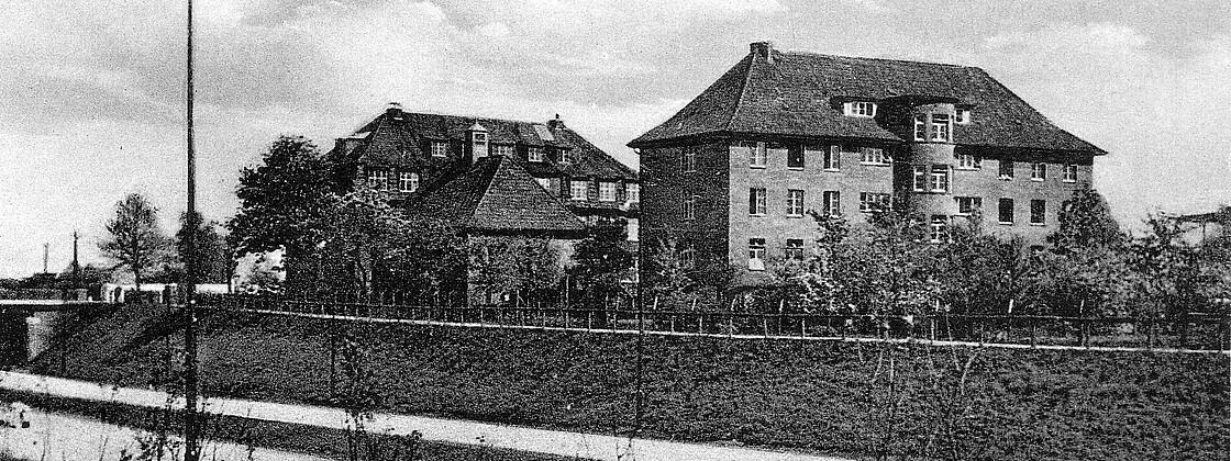 Hamburger Gebäude 1955